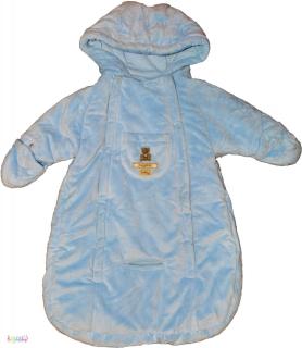 e147c830a9 Carter's macis kék belül pamut téli bundazsák 0-6hó 5-Újszerű empty