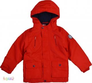 F F piros bélelt átmenti kabát 6-7év  6-Új(címke nélküli) empty 5fc19eda03
