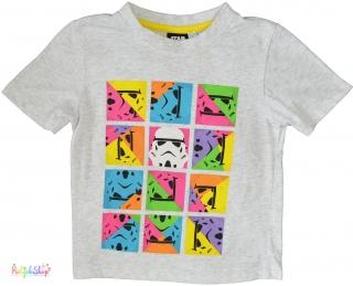 ef21e0b0d7 Star Wars színes mintás szürke póló 4-5év' 4-Hibátlan(oldaleltolódás) empty