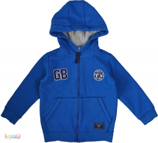c5f54b8005 Kék, belül bolyhos cipzáras pulóver 5-6év' 4-Hibátlan(pici hiba empty