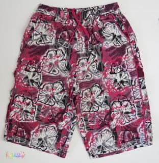 28d2fd02e7 Rebel rózsaszín-fekete mintás, belül hálós rövidnadrág 11-12év' 4-Hibátlan  empty