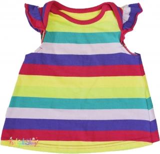 George színes csíkos pamut ruha 56  4-Hibátlan empty 3e5072350e