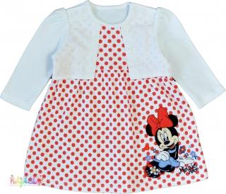 69934e57b664 Disney Minnie piros pöttyös fehér pamut ruha 68' 6-Új(címke nélküli) empty
