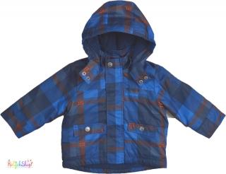 Tom Tailor kék kockás téli kabát c172484739