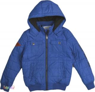 6b4ea970a4 C&A kék közepesen vastag téli kabát 146' 4-Hibátlan empty