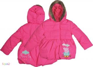 c1276bf2ef M&S Peppa pink, belül polár téli kabát 2-3év' 5-Újszerű empty