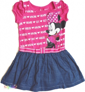 Disney Minnie pink-farmer hatású ruha 2év  4-Hibátlan empty 3b29e4a013